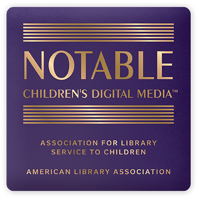 Notable Children's Digital Media logo from the Association for Library Service to Children, an American Library Association